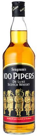 100 Pipers Scotch 80@